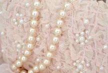 Pink, Lace and Pearls