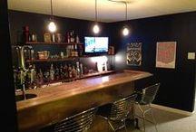 Basement Bar Idea