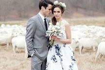 Floral Wedding Gowns / Gowns adorned in beautiful botanicals.