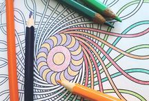 Coloring for adults / by Cristiane Perez