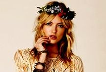 Haute Couture - BOHO CHIC / Bohemian is not just a way of dress but an entire lifestyle.  / by Sarah L. Vargas