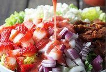 Salads / Salad and dressing recipes / by Barbara Kinkade