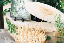 Summer Wedding / With long tropical days, beaches & bright beautiful color palettes, it's no wonder that summer is wedding season. Here are all of our favorite summertime ideas for your big day.