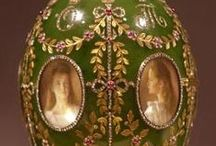 Art - FABERGE EGGS / by Sarah L. Vargas