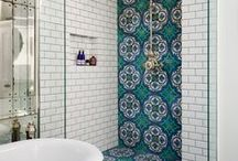 Colorful Tile / Vibrant and colorful tiles can be used in many different applications to add a bold touch!
