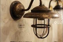 外玄関・階段・洗面台照明 / 玄関・階段・洗面台のウォールランプ(壁付け照明)です。玄関は防雨タイプの真鍮製がおすすめです。階段は踊り場に1つ+2Fに上がった所にDLを設置するといいですよ。お問い合せはSELFISH(0776-37-3252)までお気軽にどうぞ。TELは13-18時※月火定休 http://selfish-netshop.com/