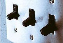 おしゃれな照明パーツ・スイッチ / アメリカンスイッチやトグルスイッチなど、スイッチにもこだわる方が増えています。とってもおしゃれですよ。