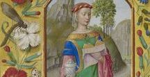 St. Mary Magdalene, Illuminated Manuscripts / Arte