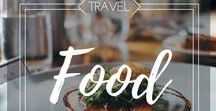 Travel Food / Best travel food tips from bloggers around the world. Enjoy more your meals when travelling.