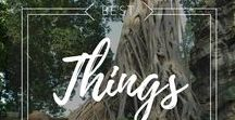 Things to Do while Travelling / Best things to do on your chosen destination.