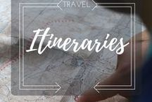 Travel Itineraries / Best itineraries made by travel bloggers around the world. Find the perfect trip for you.