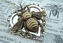 BEES!!! / My name means 'A BEE'....so I have started collecting 'bees' (the non-stinging variety!)