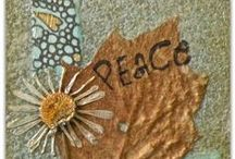 My works of art / Take a peek at my ACEO art, upcycled art, and who-knows-what-else-art!