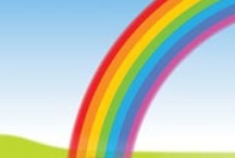 Rainbows / ideas for my Reception (age 4 - 5) class / by Louise Vaan