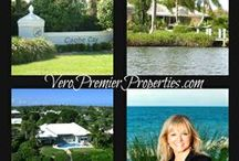 VERO BEACH ISLAND HOMES / Vero Beach offers some fabulous island communities.  I can help you find the perfect one.  We offer some small beach cottages, condos, gated singe family communities and elegant estate homes. Barbara Martino-Sliva Realtor with Dale Sorensen Real Estate.  Contact me   772-321-4484.