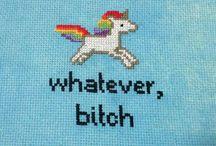Cross Stitch/Embroidery. / by Amanda Schumacher