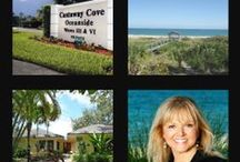 CASTAWAY COVE Vero Beach / Gated island communities of single family homes.  Castaway Cove attracts families with children because of it's central location and the variety of homes available here.  Community offers private beach access and river access.  Contact me for information 772-321-4484