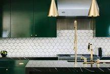Kitchen Inspirations   Jen Talbot Design / Ideas for kitchen design