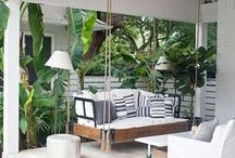 Outdoor Space    Jen Talbot Design / Ideas for designing outdoor spaces
