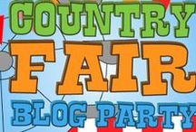 Country Fair Pin Party / Country Fair Blog Party is a monthly link up where bloggers get together and celebrate all things Country Living! Whether you live in the country or dream of it, this group board is for you! Recipes,Crafts,Gardening, Canning,  Homesteading Tips/Farm updates, Homeschooling....you get it. If you'd like to join the group send me an email at: tipgardenblog@hotmail.com. Be sure to follow the board. No Spam and keep it family friendly please!