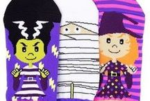 Boo! Happy Halloween! / Get in the spirit of Halloween with these fun costume, décor, and snack ideas. It's never too early to start preparing for one of the most fun days of the year! Also, don't get caught trick or treating with boring socks... now THAT's scary! / by LittleMissMatched