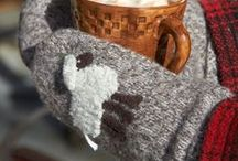 Warmth, Love: Winter Aesthetics / Simply hygge.