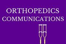 { Orthopedic Comms } / Strategic orthopedic communications: This board is filled with examples of orthopedic content that effectively demonstrates authority in the field of  orthopedics  and brings value to orthopedic  patients.