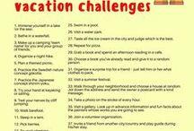 Summer travel ideas & challenges / summer | summer travel | travel ideas | inspiration | challenges | quotations | beautiful destinations | crazy ideas on the road | ideas on the road | fun travel ideas | mindfulness |