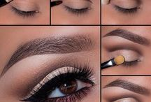 Make-up ideas or looks