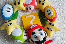 Mario baby mobile Марио мобиль из фетра