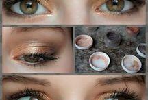 Yeux de biche / Inspirations maquillage yeux, make up, mascara, fards à paupières