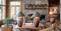 Ambiances rustiques / Rustique, bois, charpente