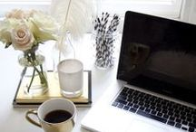 Office. / Office Inspiration and Design. / by Jen Pinkston