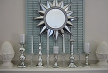 Mantel Designs & Creations / by Kristen Chavers