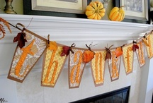 Fall crafts and food