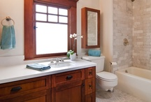 Bathrooms / Bathrooms from our completed commercial and residential remodels. Master bathroom, guest bathroom, half bathroom, ADA bathroom