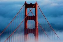 San Francisco / We have a lot of love for San Francisco life. San Francisco Bay Area. Golden Gate Bridge. Bay Bridge.