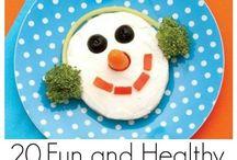 Gezond en leuk! / Healthy & nice! / Gezonde tussendoortjes, snoepjes, lekkernijen...