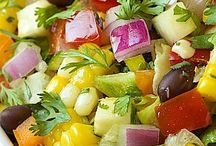 My Vegetarian Journey / Vegetarian dishes, ideas, etc.  / by Holly Sandusky