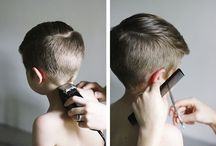 Boys hairstyles / by Sara Copple Nash