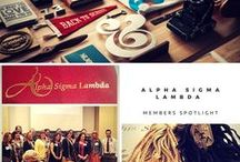 Alpha Sigma Lambda / First in Scholarship & Leadership - ASL Honor Society School of Continuing Education with 300 chartered chapters throughout the US. Visit alphasigmalambda.org for more information.