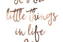 Quotes / Words that speak