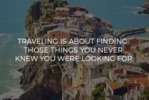 wanderlust quotes / Travel quotes | Motivational quotes | Inspirational quotes | Travel inspiration | Quotes to live by ☀