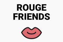 RougeFriends ©ylleeLab / ©ylleeLab #일리 #일리랩 #루즈프렌즈 #yllee #ylleeLab #RougeFriends