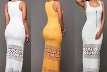 Casual Long Summer Dress / Fashion Women's Summer Boho Casual Cocktail Long Maxi Evening Party Beach Dress | Hollow-out lace patchwork |  Bodycon dress, full length, elegant new |  Suitable for formal party, evening partry, casual, etc