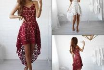 Casual Dress Ideal for Spring Summer / Sexy Women Summer Casual Sleeveless Evening Party Cocktail Lace Short Mini Dress | Irregular cutting, short front long back, perfect wearing effect |  New chic design to help you win more attention in the party