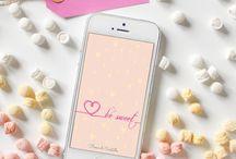 ❄️my free wallpaper / Free downlod smartphone wallpaper designed by Fiocco di Cristallo