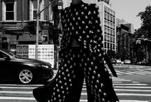 Fashion street B&W