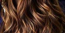 Hårfärger brunett