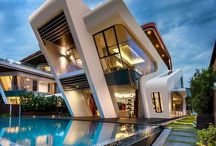 Современные дома
